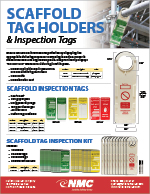 Scaffold Tag Holder and Inspection Tags Sell Sheet