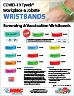 Workplace & Job Site Wristband Sell Sheet